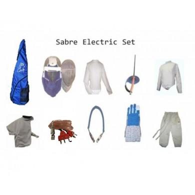 Deluxe 10 pieces Electric Sabre Fencing Set